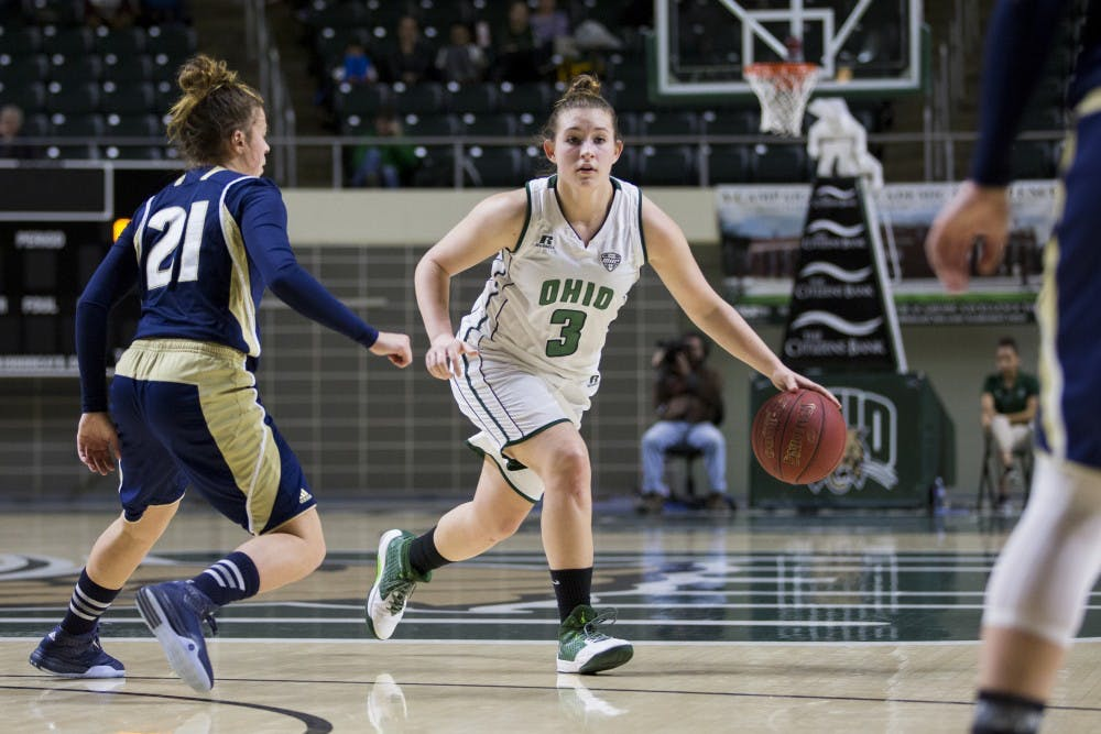 Women's Basketball: Ohio defeats Toledo 78-61 to open MAC play