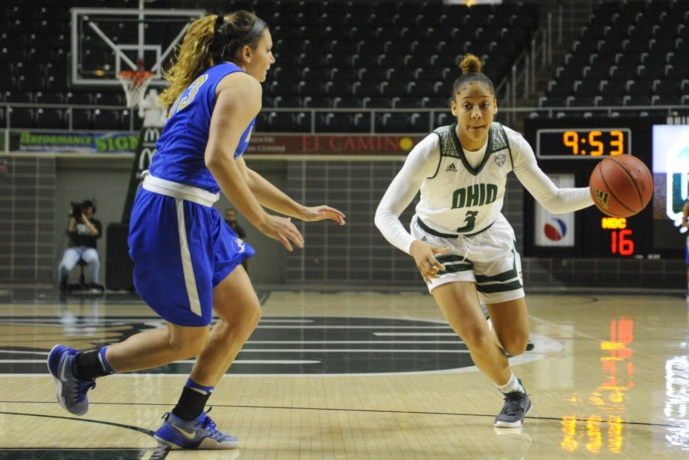 Women's basketball: Ohio loses 74-61 against No. 25 Michigan, drops first game of season