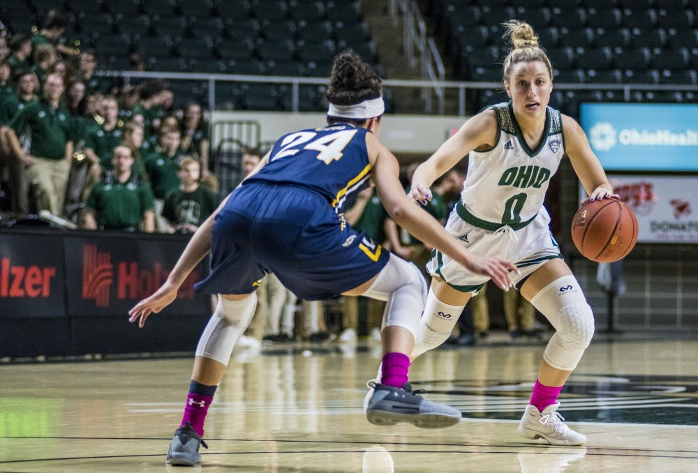 Women's basketball: Bobcats survive Kent State, win 79-78