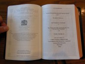 cambridge kjv, holman ministers kjv and funky lil kjv 030