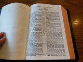 cambridge kjv, holman ministers kjv and funky lil kjv 041