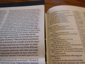 cambridge kjv, holman ministers kjv and funky lil kjv 135