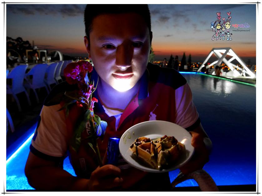 【湖口夜景】夏季三角景觀咖啡廳~看日落。百萬夜景。美到嫑嫑湖口最新耍浪漫聖地
