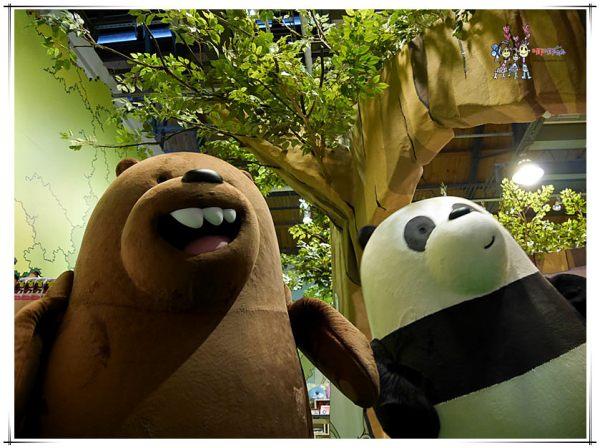 卡通頻道期間限定快閃商店,熊熊遇見你, 飛天小女警,探險活寶,熊熊咖啡屋,tree house,台北忠孝新生,台北華山展覽,卡通頻道,台北熊熊咖啡屋,