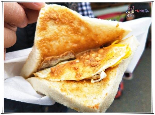 宜蘭美食,早餐,宜蘭市,救災,彩虹小8,鐵板三明治
