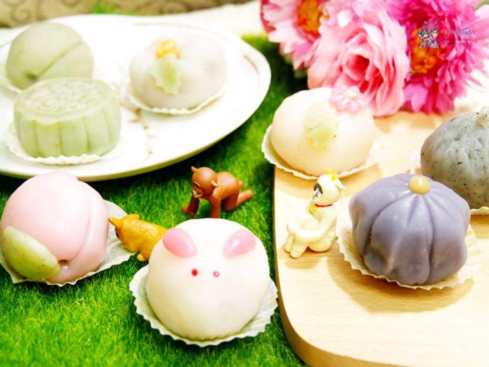 中秋月餅,月餅,桃園月餅,宅配月餅,冰皮月餅,抹茶,桃園美食