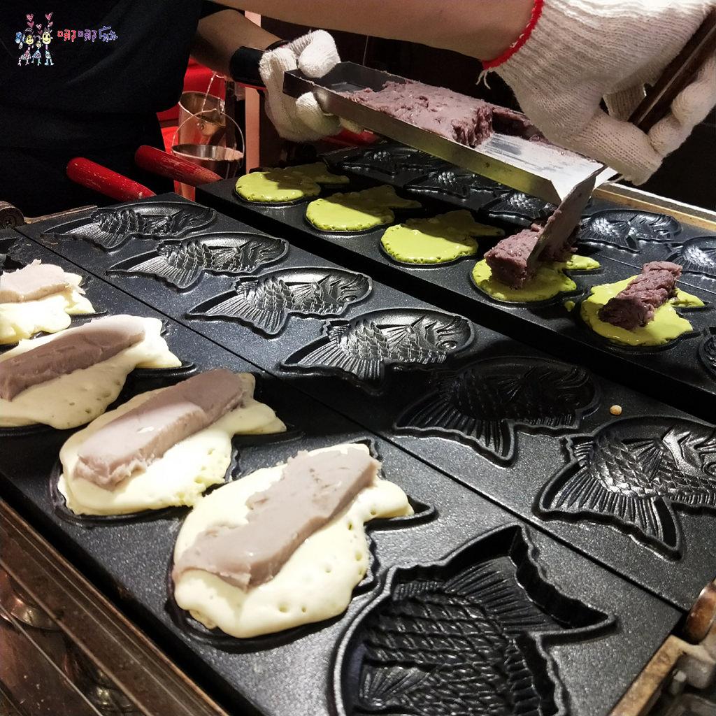 台北美食,窩客島,日本展,新光三越南西店,糰子,鯛魚燒,美食展,親子丼