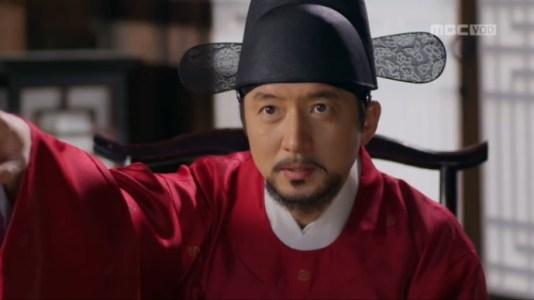獄中花(オクチュンファ)第1話 観相を見てもらうユン・ウォニョン