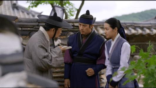 獄中花第12話 白い粉について話す医員とオンニョ、ユン・テウォン