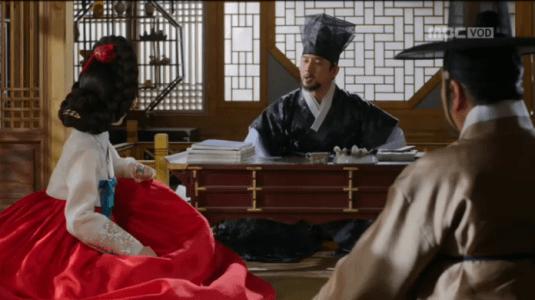 獄中花第9話 念を押すユン・ウォニョン