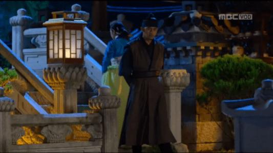 獄中花第17話 遠くから見つめるユン・テウォン