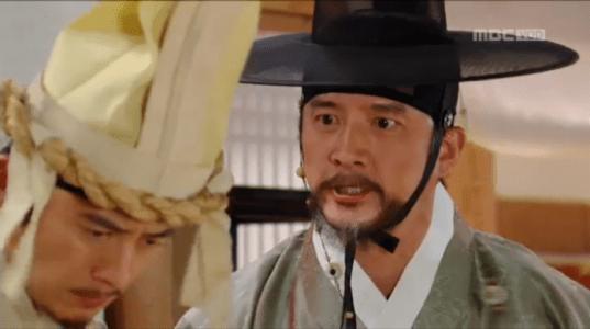 獄中花第14話 ユン・テウォンを叱るユン・ウォニョン