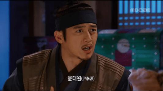 獄中花第14話 質問するユン・テウォン