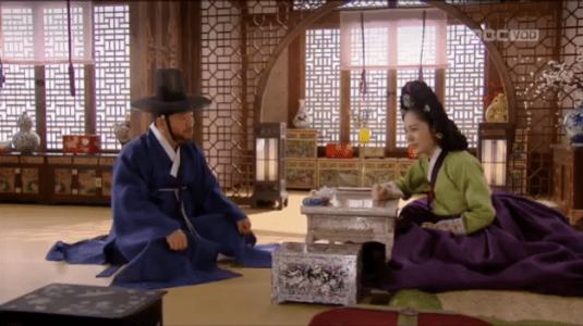 獄中花(オクチュンファ)第20話 相談するチョン・ナンジョンとチョン・マッケ