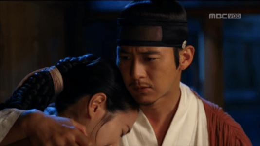 獄中花(オクチュンファ)第20話 オンニョを慰めるユン・テウォン