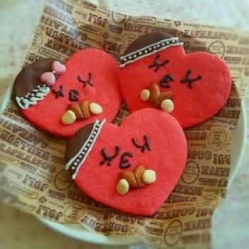 バレンタイン ハートチョコクッキー
