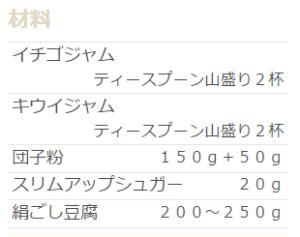 手作り 三色団子 レシピ