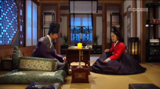 獄中花(オクチュンファ)第24話 ユン・ウォニョンとチョン・ナンジョン