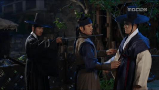 獄中花(オクチュンファ)第26話 狙われるユン・テウォン