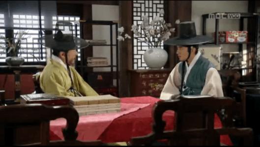 獄中花(オクチュンファ)第29話 コン・ジェミョンと話す