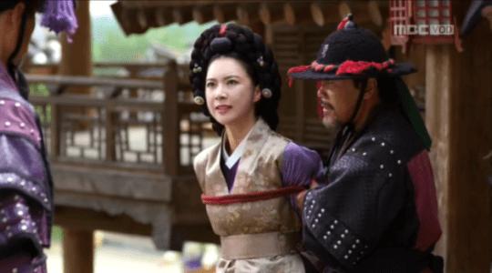 獄中花(オクチュンファ)第30話 捕縛されるミン・ドンジュ
