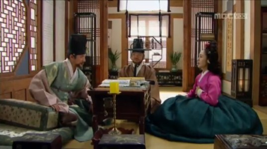 獄中花(オクチュンファ)第32話 大監に会うチョン・ナンジョン