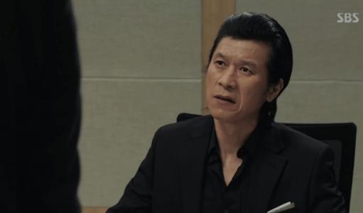 韓国ドラマ「耳打ち(ささやき)」4話 裁判を受けるペク・サング