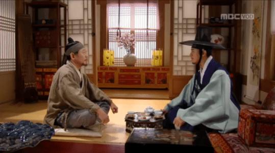 獄中花(オクチュンファ)第37話 男性を呼び出すユン・テウォン