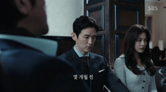 韓国ドラマ「耳打ち(ささやき)」4話 数か月前のチェ・スヨン