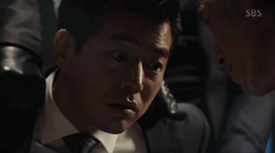 韓国ドラマ「耳打ち(ささやき)」5話 ペク・サングに捕まるイ・ドンジュン