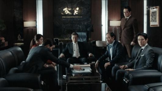 韓国ドラマ「耳打ち(ささやき)」8話 集まる太白の人たち