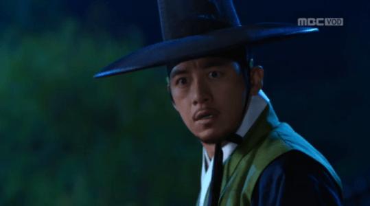 獄中花(オクチュンファ)第39話 刺客を追い払うユン・テウォン