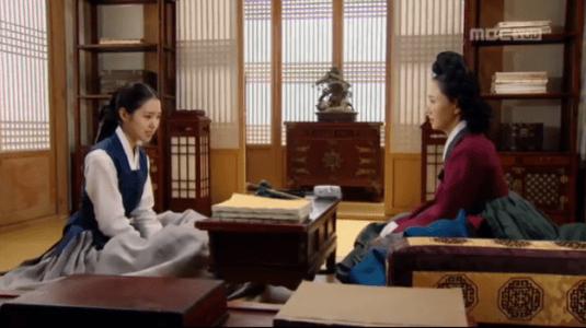 獄中花(オクチュンファ)第38話 説明する大殿尚宮