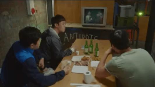 韓国ドラマ「サムマイウェイ」2話 テレビを見ている先生