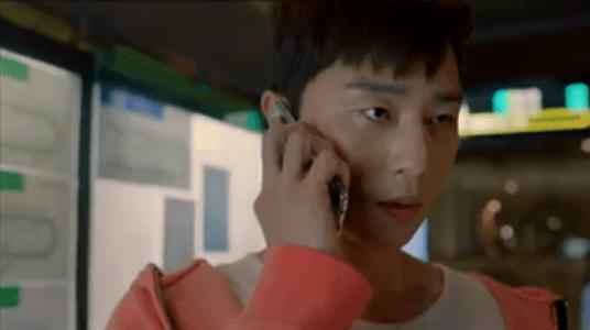 韓国ドラマ「サムマイウェイ」5話 電話をするコ・ドンマン