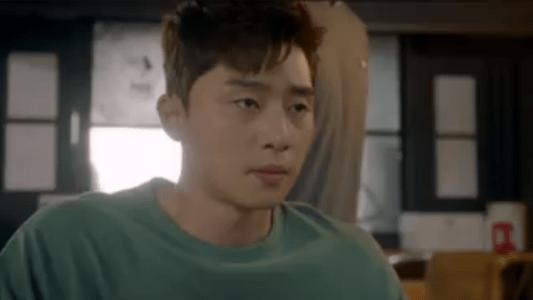 韓国ドラマ「サムマイウェイ」5話 テレビを見ているコ・ドンマン