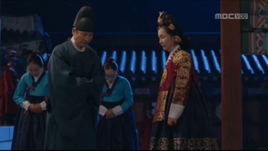 獄中花(オクチュンファ)第44話 殿下の病を隠す文定王后