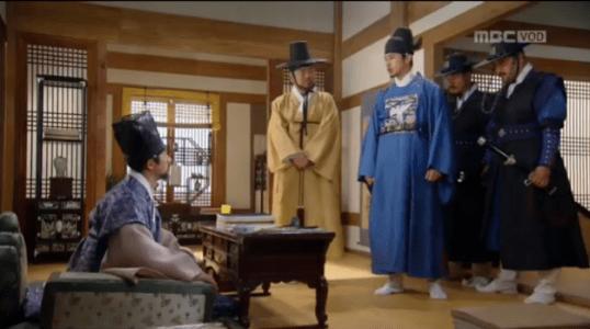 獄中花(オクチュンファ)第48話 ユン・テウォンが捕まえに来る
