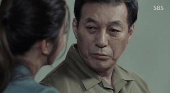 韓国ドラマ「耳打ち(ささやき)」第16話 怒るチェ・イルファン