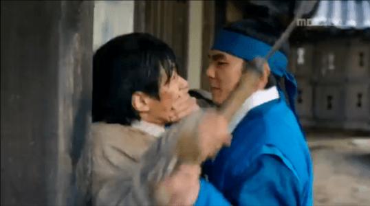 韓国ドラマ「君主(クンジュ)」2話 阻止するイ・ソン