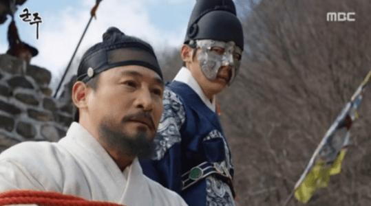 韓国ドラマ「君主(クンジュ)」4話 処刑されるハン・ギュホ