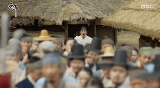 韓国ドラマ「君主(クンジュ)」3話 叫ぶイ・ソン