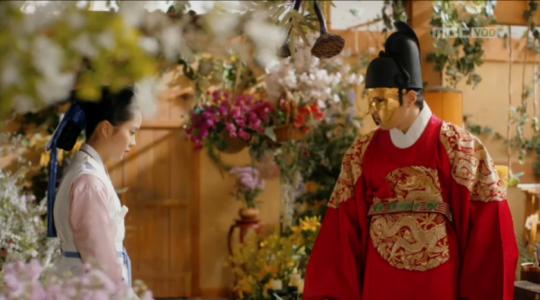 「君主(クンジュ)~仮面の主人~」第7話 温室に忍び込むガウン