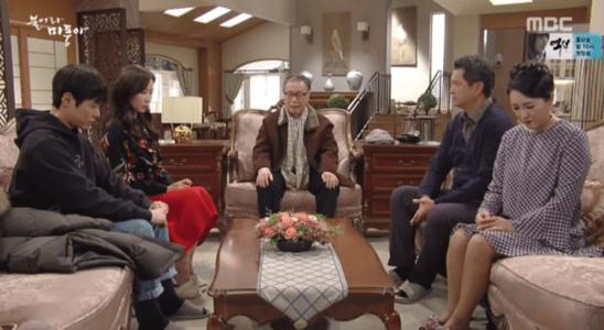 「吹けよ、ミプン」第44話 話し合うキム・ドクチョン