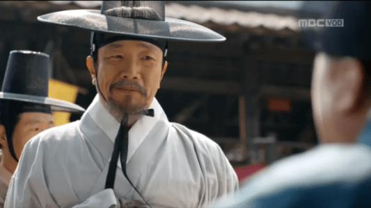 「君主(クンジュ)~仮面の主人~」第9話 臣僚に会うウ・ボ