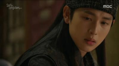 「王は愛する」第4話 つぶやく世子ウォン