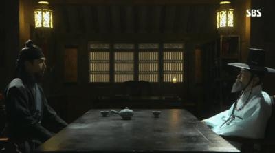 「秘密の扉」第6話 ピルチェと話すキム・テク