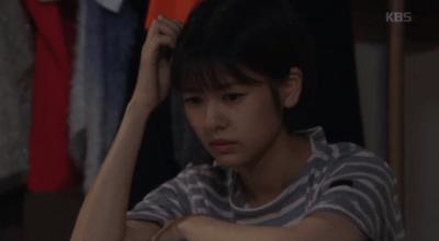 「適齢期惑々ロマンス~お父さんが変~」第42話 考え事をするミヨン