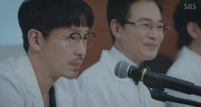 [胸部外科]~心臓を盗んだ医師たち~ 第13話,第14話 記者会見するソッカン