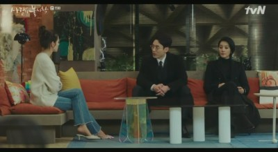 [愛の不時着] 第11話 セヒョンと話すセリ